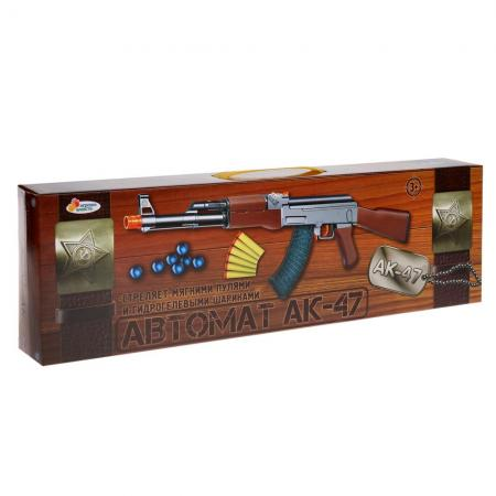 Автомат Играем вместе АК-47 коричневый B1595554-R автомат играем вместе автомат черный b1648716 r