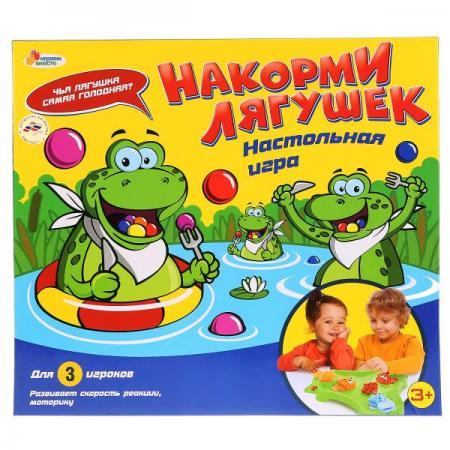 Настольная игра накорми лягушек тм играем вместе в