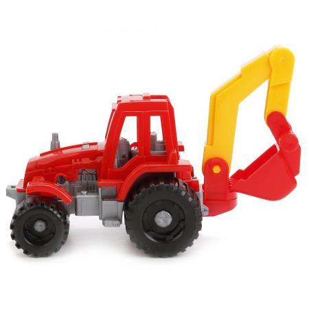 Трактор ижора с ковшом