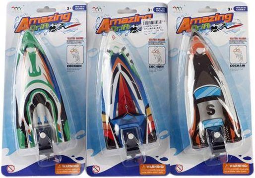 Купить Катер Shantou Gepai Amazing Drift разноцветный US396, Наша Игрушка, Игрушки