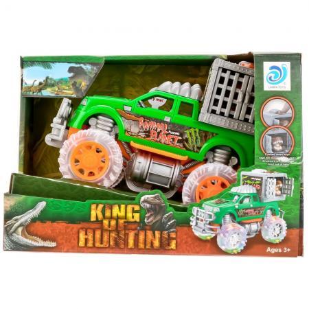Купить Инерционная машинка Shantou Gepai 9911-91 зеленый 1709A325, Игрушки