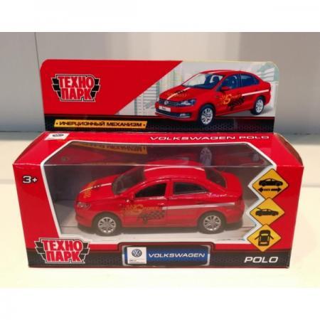 Купить Автомобиль Технопарк VW POLO СПОРТ красный POLO-S, ТЕХНОПАРК, Игрушки