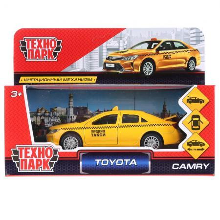 ТМ Технопарк. Машина металл TOYOTA CAMRY ТАКСИ, длина 12 см, откр дв, багаж, инерц. в кор.2*36шт машины drift машина фрикционная такси