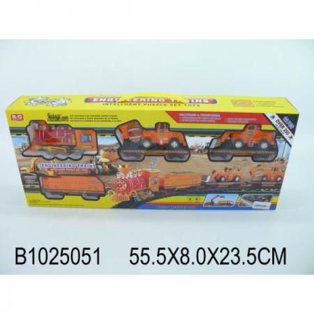 Купить Железная дорога на бат. свет+звук 2009-25 в кор. в кор.30шт, Shantou, Игрушки