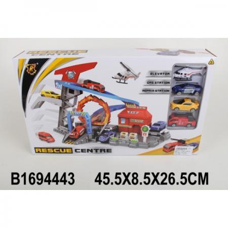 Купить Гараж-парковка с машинками P869-A в кор. в кор.2*12шт, Shantou, Игрушки