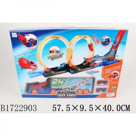 Купить Трек с машинками, инерц. 6688-263 в кор. в кор.12шт, Shantou, Игрушки