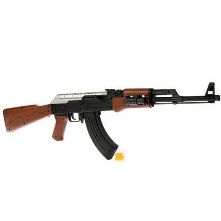 Автомат (п) с лазер. прицелом AK-47A в пак. в кор.3*12шт