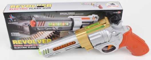 Купить Оружие звуковое пистолет на бат. со светом LX8266A в кор. в кор.2*42шт, Shantou, Игрушки