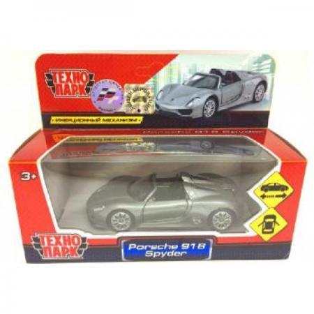 Купить ТМ Технопарк. Машина металл Porsche 918 Spyder , 1:41, открыв. двери, инерц. в кор. в кор.2*36шт, ТЕХНОПАРК, Игрушки