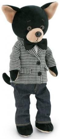 Купить Мягкая игрушка собака ORANGE Чихуа Buzz Современная классика 25 см серый черный текстиль искусственн, Игрушки