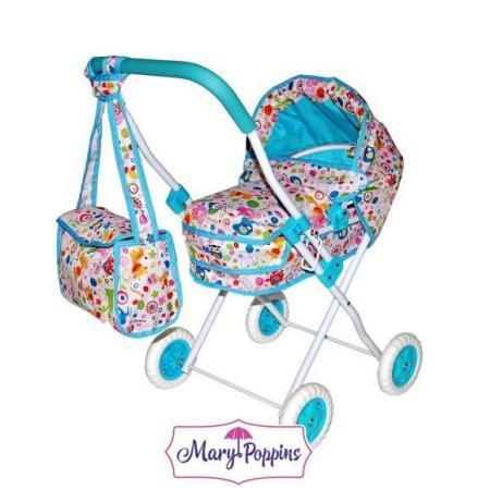 Коляска для кукол Mary Poppins Фантазия 67315 mary poppins пылесос mary poppins умный дом