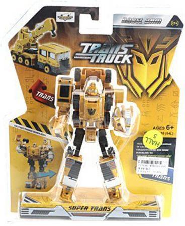 Купить Робот-трансформер Shantou Gepai Строительная техника KY80305-04L, Игрушки