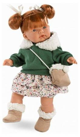 Фото - Кукла Llorens Кейт 38 см со звуком 536557 little you мягкая кукла кейт цвет одежды голубой желтый
