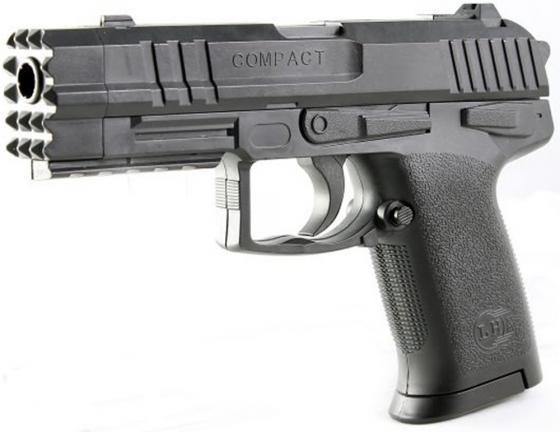 Пистолет Shantou Gepai Compact черный ES447-304940PB цена