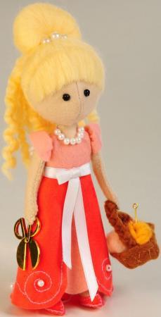 Набор для создания игрушки Перловка Фея рукоделия ПФ-1201 набор для создания игрушки перловка заяц повелитель морей высота 16 5 см