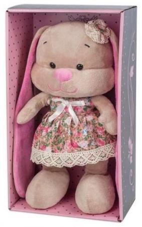 Купить Мягкая игрушка заяц Jack Lin Зайка в Летнем Платье 25 см искусственный мех трикотаж пластмасса, Игрушки