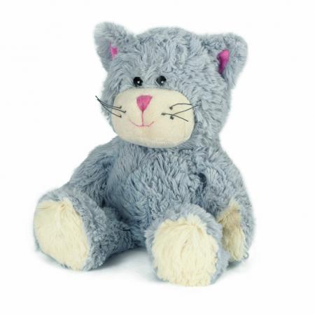 Мягкая игрушка-грелка кот Warmies Кот синий синий полиэстер полифилл грелки warmies cozy plush игрушка грелка полярный мишка
