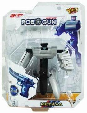 Купить Трансформер Shantou Gepai Робот-пистолет M6683-4, Игрушки