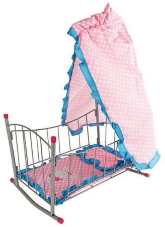 Купить Кроватка-качалка для кукол Mary Poppins Зайка ITEM NO:67314, Игрушки