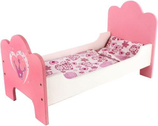 Купить Кроватка для кукол Mary Poppins Корона 67114, Игрушки
