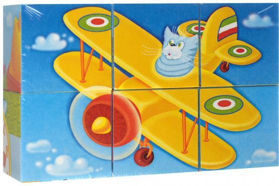 Кубики СТЕЛЛАР Герои сказок N22 6 шт 822 развивающие игрушки стеллар кубики животные 4 шт