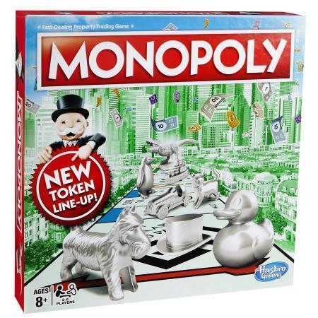 Настольная игра ходилка HASBRO Монополия Классическая дорожная игра hasbro монополия