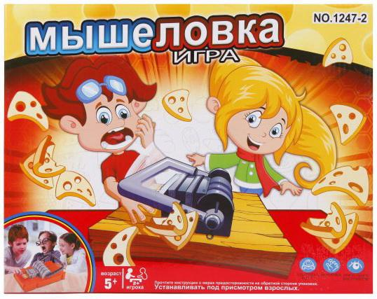 Настольная игра развивающая Наша Игрушка Мышеловка Y18723106 игра настольная развивающая pic nmix веселые фрукты