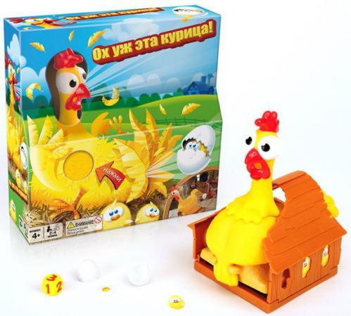 Настольная игра логическая Ooba Ох, уж эта курица! настольная игра bondibon логическая iq хохо арт sg 444 ru