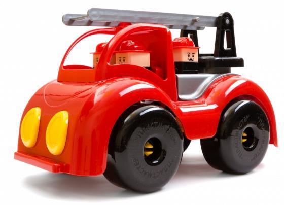 Автомобиль Пластмастер Пожарная Крепыш красный