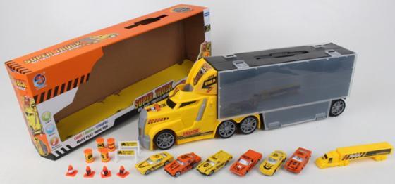 Набор машинок best toys Фура разноцветный dickie toys набор машинок car trailer 5 шт