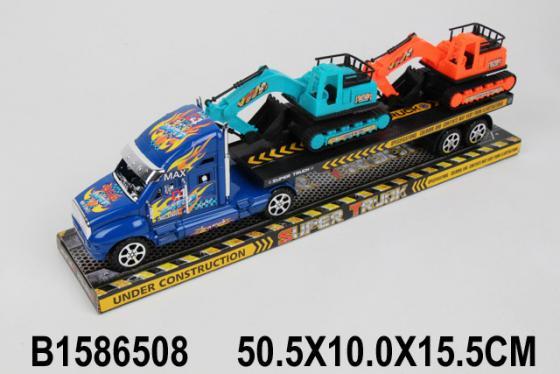 Трейлер best toys Грузовой трейлер разноцветный