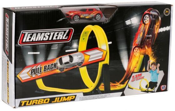 Игровой набор TEAMSTERZ 1416243.00 Турбо прыжок трек hti teamsterz турбо прыжок