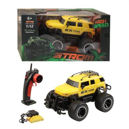 Машинка SY cars Машинка электромеханическая 1:12 желтый
