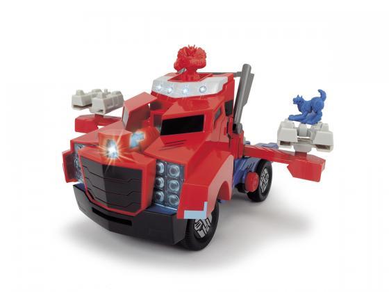 Спецтехника Dickie Боевая Optimus Prime красный 3116003 игровой набор hasbro дино спарклс optimus prime