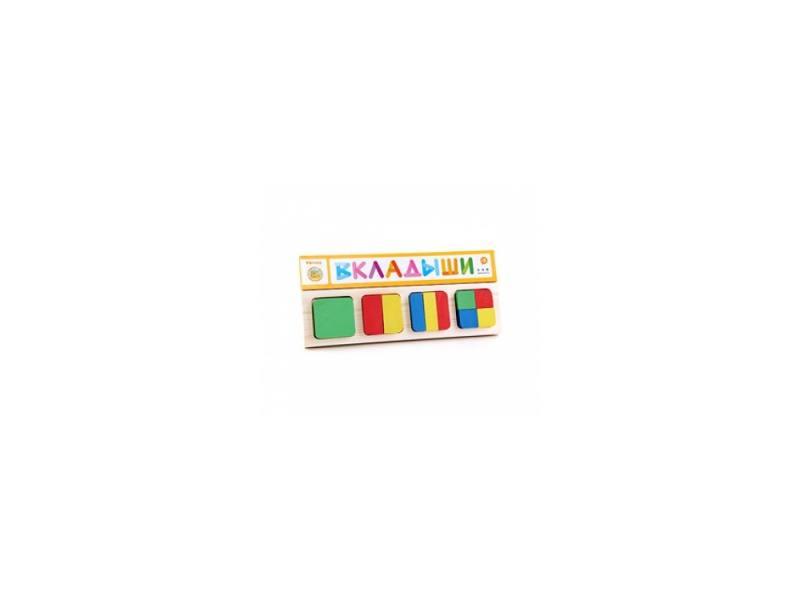 Купить Пазл 10 элементов Томик Геометрия Квадрат 332, Конструкторы, мозаики, пазлы