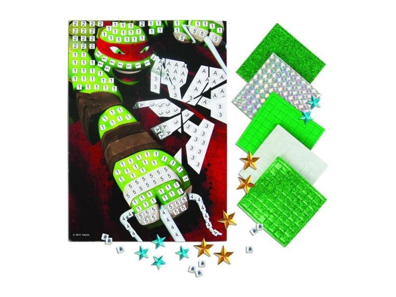 Купить Мозайка мягкая 600 элементов Kuso Рафаэль K10037, Конструкторы, мозаики, пазлы
