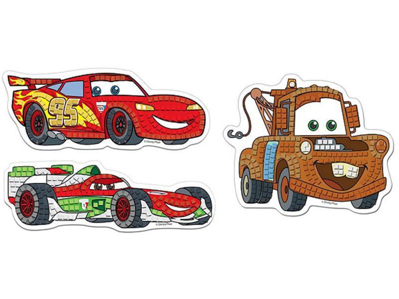 Мозайка мягкая 6 элементов Multi Art DISNEY CARS FGM-EP100-CR