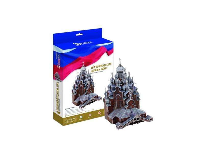 Пазл 3D CubicFun 3D-пазл Кижи Преображенская церковь (Россия) 126 элементов