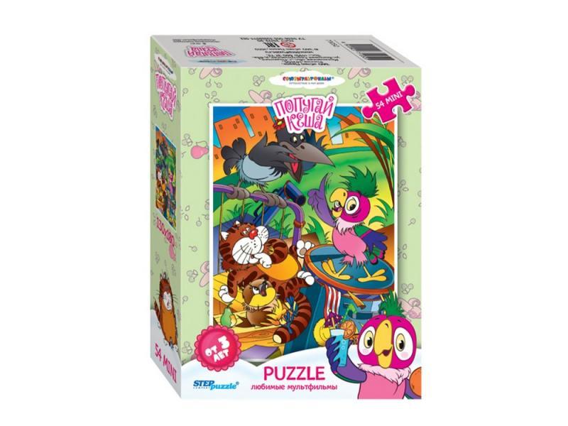 Пазл Step Puzzle Любимые мультфильмы - Попугай Кеша 54 элемента