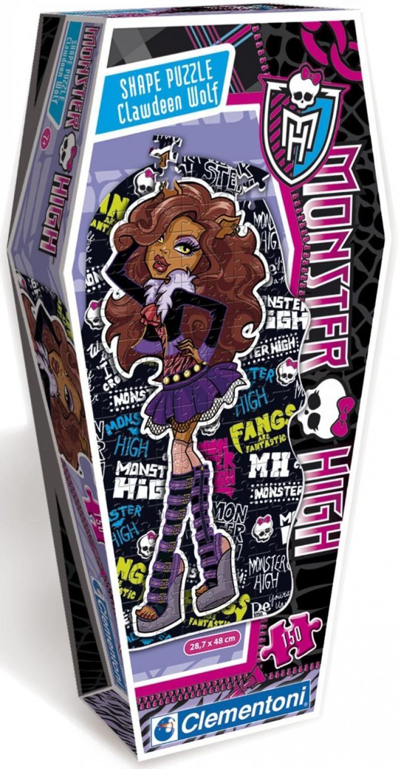 Monster High. Пазл Клодин Вульф 150 элементов 27531 кукла трансформирующийся монстрик клодин вульф monster high fkp47