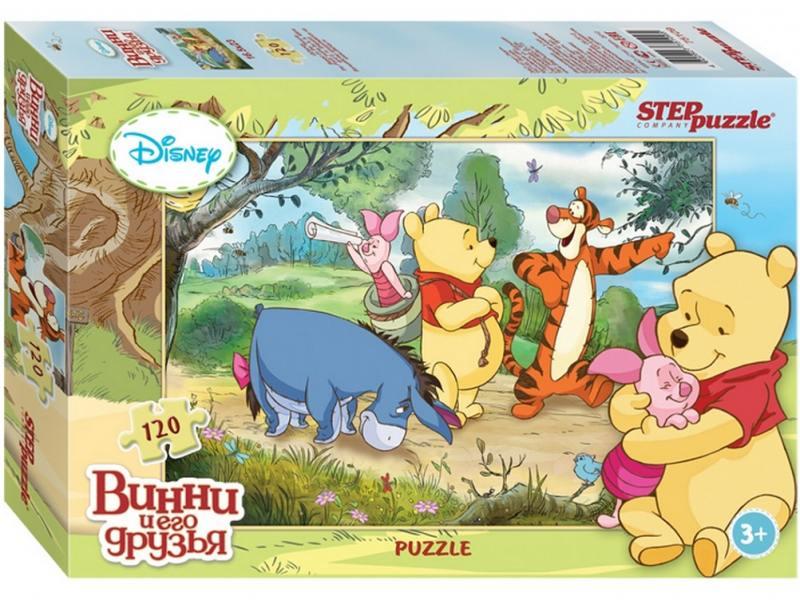Пазл Step Puzzle Disney Винни и его друзья 120 элементов