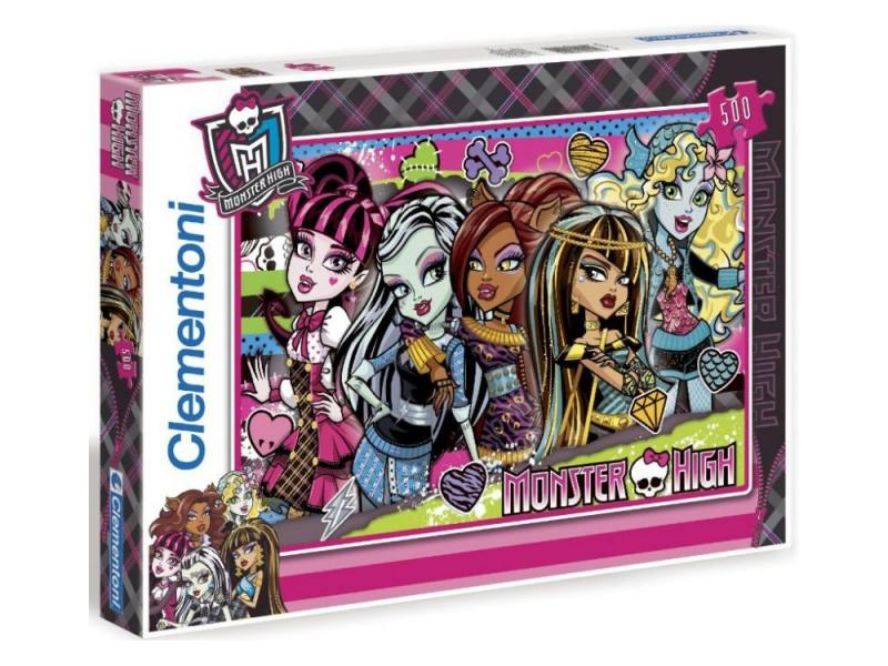 Пазл Monster High 37179 500 элементов пазл 150 элементов monster high клео де нил 27535