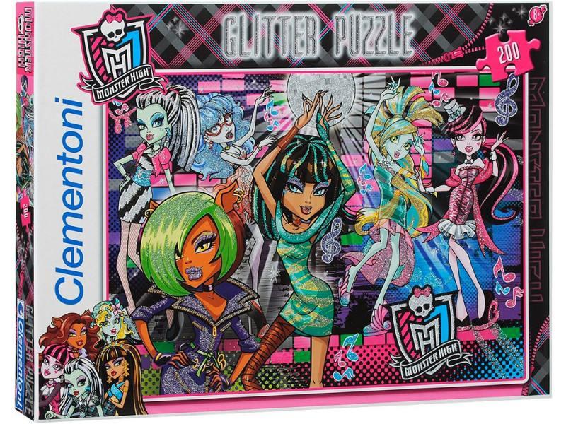 Monster High. Пазл Вампиры хотят повеселиться 200 элементов 29651 наклейка monster high
