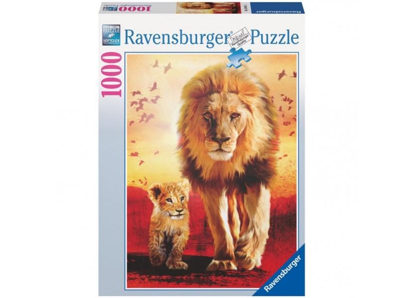Пазл Ravensburger Первые шаги 1000 элементов пазлы ravensburger пазл приключения немо 2х24 элементов