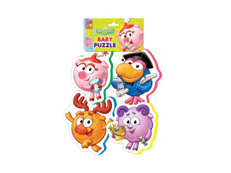 Мягкий пазл Vladi toys Baby puzzle.Смешарики VT1106-48