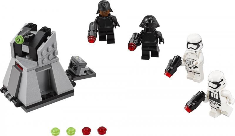 Фото Конструктор Lego Star Wars Боевой набор Первого Ордена 75132