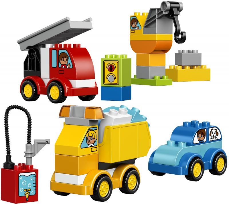 Конструктор Lego Duplo Мои первые машинки 10816 lego конструктор вокруг света в мире животных duplo 10805