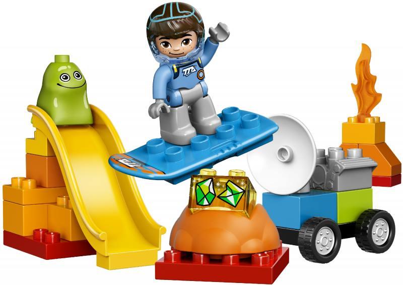 Конструктор Lego Duplo Космические приключения Майлза 10824 lego lego duplo 10572 механик