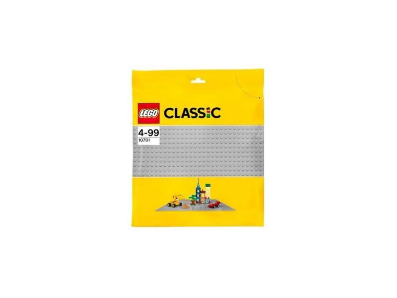 Конструктор Lego Classic Строительная пластина серого цвета 10701 конструктор lego duplo строительная пластина 38х38 2304