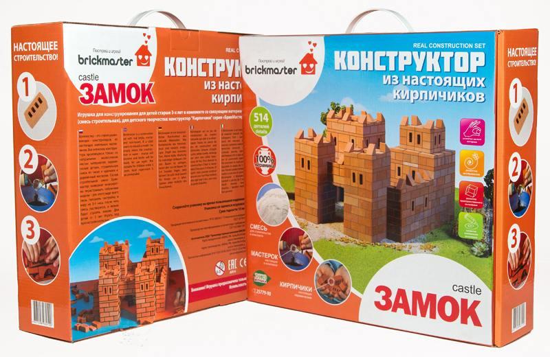 Конструктор Brickmaster 101 Замок (514 деталей) цена